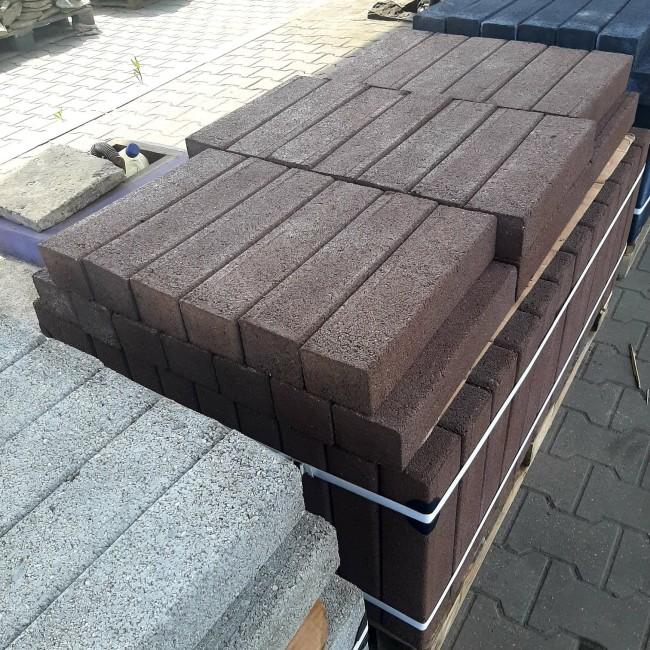 Palisada betonowa prostokątna