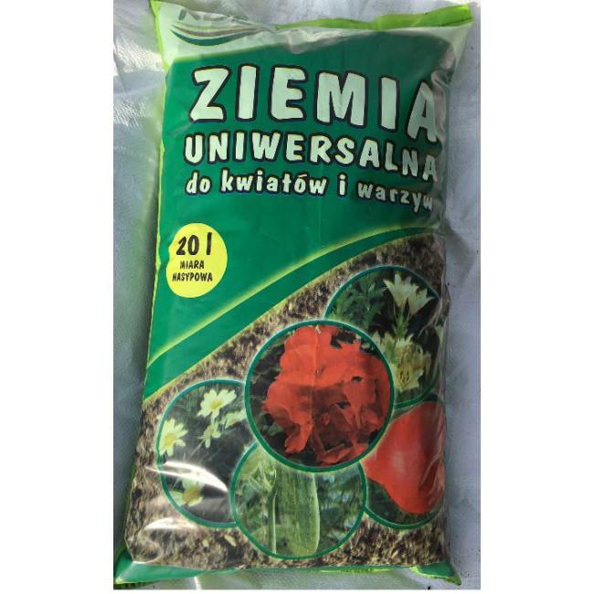 Ziemia uniwersalna do kwiatów i warzyw